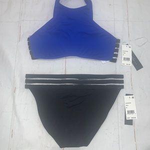 Kenneth Cole 2 pc bikini set swimsuit Sz M NWT